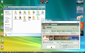Windows 7 to Vista by Maxpein