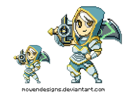 Redeemed Riven Pixels by MowenDesigns