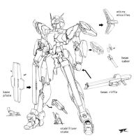Havoc Armament lineart 1 by Rekkou