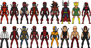 The Deadpools by MicroManED