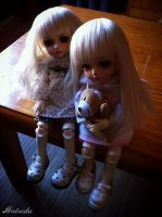 Emma and Lily (Ange ai Sunny and Hani CH) by Anireda