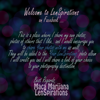Welcome .. 2 by LenSpirations