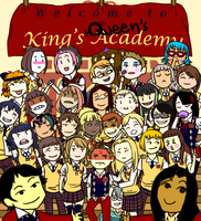 King's and Queen's Academy by Miwaslover
