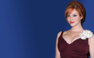 Christina Hendricks 3 by Residentartist101