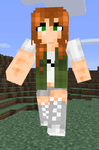 Girl Minecraft Skin by NarniaWhales