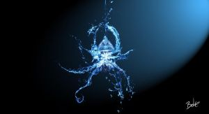 Water Spider by B-O-K-E