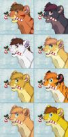 New Year gifts - big cat cubs by Sidgi