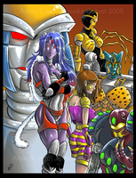 Beast Wars Cast Random Cover by KarlaCr0me
