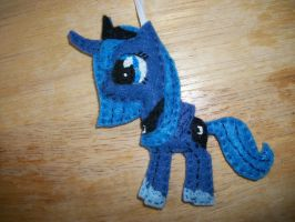 Luna Handmade Pony Ornament by grandmoonma