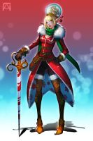 Christmas Knight Elf 2 by Pechan
