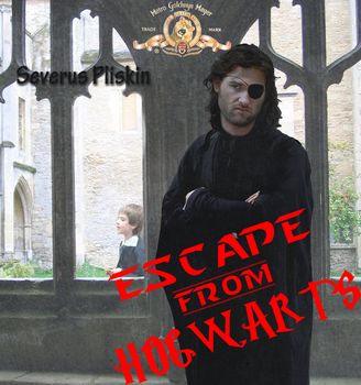 Escape From Hogwarts Movie Poster by Nolamom3507