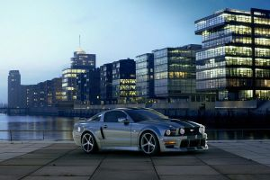 Mustang at Harbourcity Hamburg by MUCK-ONE