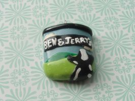 Kawaii Clay Ben and Jerry's by CraftyOlivia