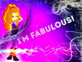 Adagio Dazzle Is Fabulous!~ Equestria Girls by Sunset-Dasher