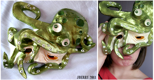Octopus Attack Mask by berrynerdy