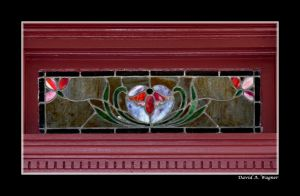 Stained Glass II by David-A-Wagner