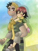 Gonna carry you till the end by faycoon