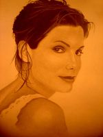 SANDRA BULLOCK by sinsenor