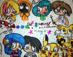 Be Different by Violent-Rainbow