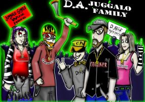 2 THE JUGGALOS by shaggydope