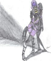 Tali'Zorah vas Normandy by Shepherd0Fire