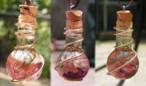 Magic Vial - Summer Lightning by Izile