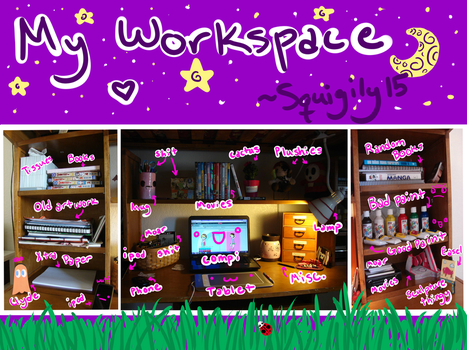 My Workspace :D by Squigily15
