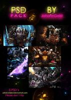 JG PSD Pack 1 by JohannGeist