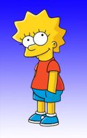Lisa and Bart Swap by L4Drules4