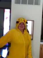 Pikachu Kigurumi part 1 by Yugilover1