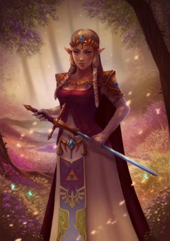 Princess Zelda by PetraImboden