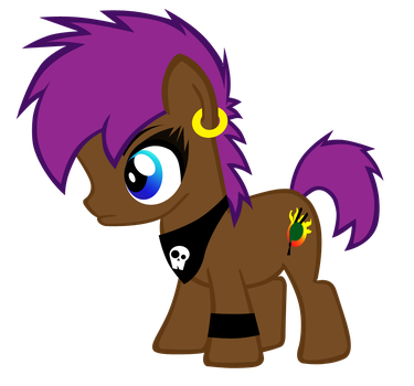 Bagpipe Brony Foal by goth-of-whoville