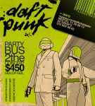 flyer daft punk by mcflynch