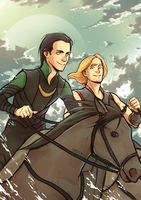 Princes of Asgard by Kibbitzer