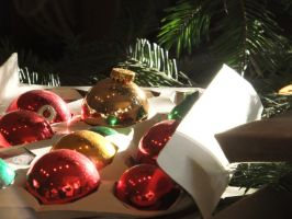 Christmas Ornaments by citreneowl