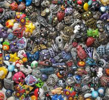 So many necklaces! Too many necklaces? Naahhhh by Ideationox