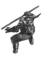 TMNT Don by zylhalo