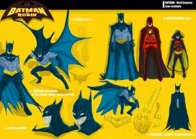 BATMAN NEW COSTUME by acir