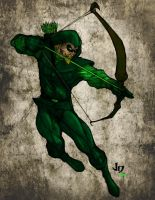 Green Arrow by Chazzwin