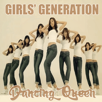 CD COVER.~ SNSD_DANCING QUEEN by Solita-San