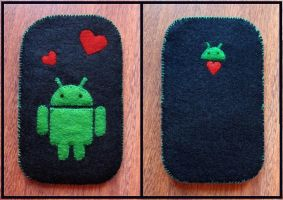 Felt Android Phone Case by anikkavlc