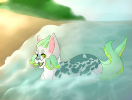 These Fishes in the Sea are Starin' at Me by wallaberry