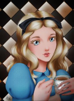 Alice in Wonderland : Alice by DHackTrix