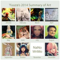 2014 Summary of Art by Yuuza