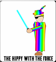 The Hippy With the Force by x-Katus-x
