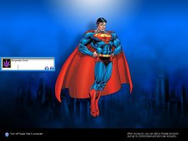 Super Man Windows Xp Logon by Enigmatic-Zorro