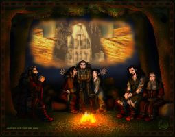 The Hobbit: I Dreamt of Erebor by wolfanita