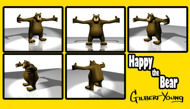 Happy the Bear by Attempted