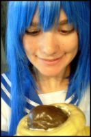 Hungry Konata by MissMisaCosplay