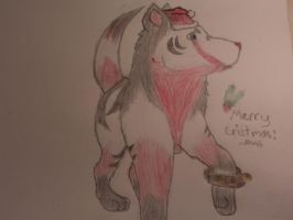 Merry cristmas Natsume by 7MoonWillow